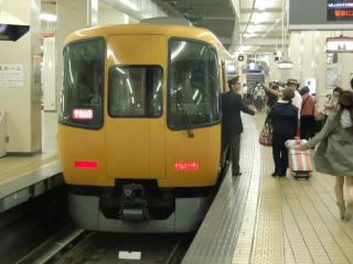 名古屋の近鉄特急