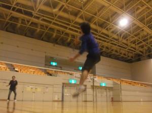 金田さんジャンピング