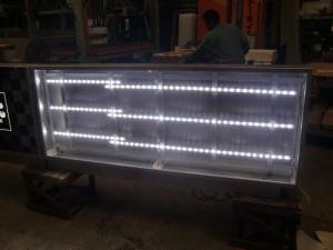 内部LED点灯状況