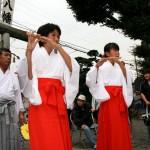 田名八幡宮獅子舞3